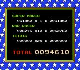 Nintendo World Championships 1990 NES Here is your final score