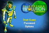 Alienators: Evolution Continues Game Boy Advance Title screen