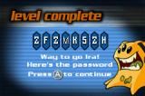 Alienators: Evolution Continues Game Boy Advance After each level completed, we get a password for latter use.