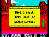 Buffalo Bill's Wild West Show ZX Spectrum Level 2 intro