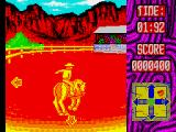 Buffalo Bill's Wild West Show ZX Spectrum The bucking bronco