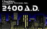 2400 A.D. DOS Title screen