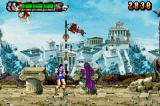 Altered Beast: Guardian of the Realms Game Boy Advance The purple wizards protect the red wizard.