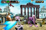 Altered Beast: Guardian of the Realms Game Boy Advance The wolf's rush attack is very powerful.