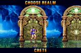 Altered Beast: Guardian of the Realms Game Boy Advance The portal leads to a room where you can choose the next realm.