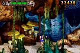 Altered Beast: Guardian of the Realms Game Boy Advance Fight against worm like enemies.