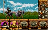 Ishar: Legend of the Fortress DOS Goblins attack