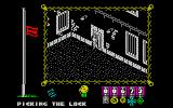 The Great Escape ZX Spectrum Picking a locked door.