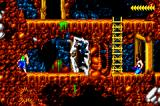 Blackthorne Game Boy Advance Blast some doors with bombs.