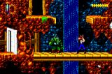 Blackthorne Game Boy Advance Duel: Press 'up' to hide and avoid being shot.
