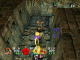 Evolution Worlds GameCube Exploring a dungeon