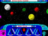 Trivial Pursuit: A New Beginning ZX Spectrum Moving around the planets to find a question