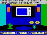 Trivial Pursuit: A New Beginning ZX Spectrum Be honest