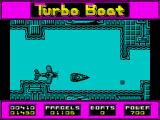 Turbo Boat Simulator ZX Spectrum Awkward position for that map piece to be dropped