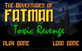 The Adventures of Fatman: Toxic Revenge Windows Game Title Screen