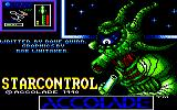 Star Control Amstrad CPC Title screen