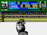 Frank Bruno's Boxing ZX Spectrum We're underway
