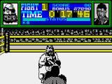 Frank Bruno's Boxing ZX Spectrum Lining up a shot