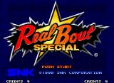 Real Bout Fatal Fury Special Neo Geo Title screen (Japanese version).