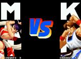 Real Bout Fatal Fury Special Neo Geo VS screen (both 1-Player Game first battle and 2-Player matches).