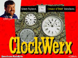 ClockWerx Windows Title screen
