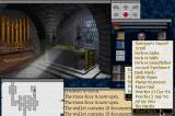 The Legacy: Realm of Terror DOS At the chapel (note the pop-up menus)