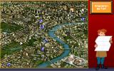 Eagle Eye Mysteries in London DOS Game Map