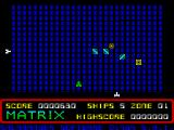 Matrix: Gridrunner 2 ZX Spectrum Need to move to the right here