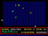 Matrix: Gridrunner 2 ZX Spectrum The disintegrated parts move sideways