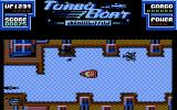 Turbo Boat Simulator Commodore 64 Avoid the various enemies