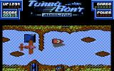 Turbo Boat Simulator Commodore 64 Use ramps to jump over obstacles