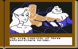 Gamma Force in Pit of a Thousand Screams Commodore 64 The crew consists of three extraordinary beings