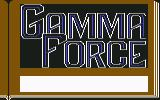 Gamma Force in Pit of a Thousand Screams Commodore 64 Title screen part 1