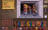 Lands of Lore: The Throne of Chaos DOS Battling amazons in the White Tower