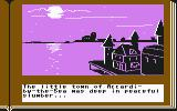 ZorkQuest: The Crystal of Doom Commodore 64 The little town of Accardi-by-the-Sea was deep in peaceful slumber...