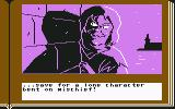 ZorkQuest: The Crystal of Doom Commodore 64 ...save for a lone character bent on mischief