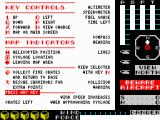 Cyclone ZX Spectrum Information screen