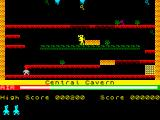 Manic Miner ZX Spectrum Central Cavern