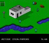 Infiltrator II NES At the enemy base