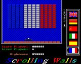 Scrolling Walls Amiga In-game screenshot