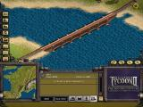 Railroad Tycoon II: The Second Century Windows Bridge over sea? No problem!