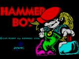 Hammer Boy ZX Spectrum Title Screen