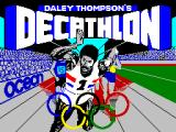 Daley Thompson's Decathlon ZX Spectrum Loading screen