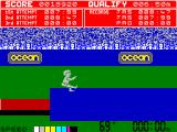 Daley Thompson's Decathlon ZX Spectrum Long Jump