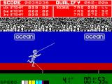 Daley Thompson's Decathlon ZX Spectrum Javelin
