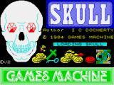 Skull ZX Spectrum Loading screen