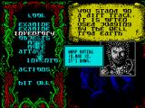 Sláine, the Celtic Barbarian ZX Spectrum The options as they hover in and out of selectability