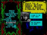 Sláine, the Celtic Barbarian ZX Spectrum That's all over