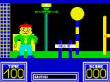 Benny Hill's Madcap Chase ZX Spectrum Game start