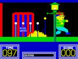 Benny Hill's Madcap Chase ZX Spectrum Avoiding the same fate, having moved into the screen